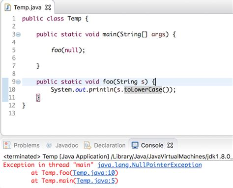 Null Pointer Exception At Layoutinflater | java lang nullpointerexception journaldev