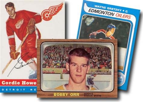 vintage hockey card template shop hockey cards vintage to modern topps o chee