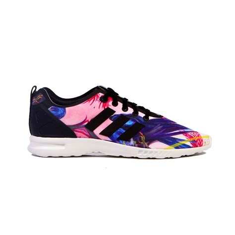 adidas for women adidas zx flux smooth core black white multicolor women