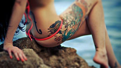 tattoo hot wallpaper girls with tattoos wallpaper best tattoos design
