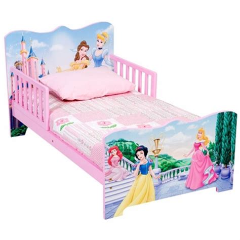 Delta Disney Princess Wooden Toddler Bed With Safe Sleep Delta Disney Princess Bed