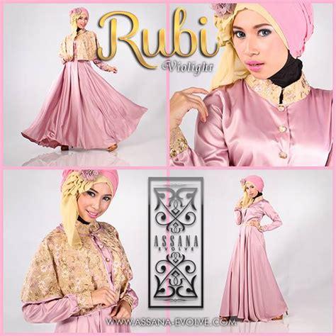 Rubi Dress Mouslim Gamis Modis busana muslim koleksi terbaru