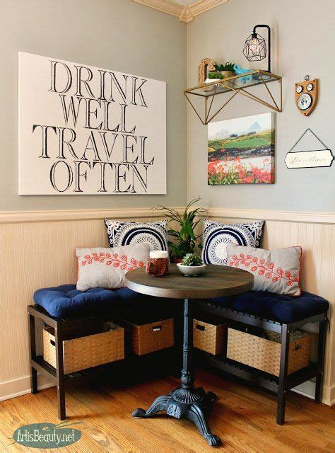 create  breakfast nook  ikea benches