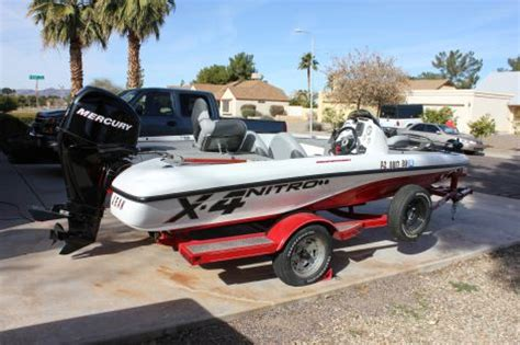 bass boat nitro x4 17 foot nitro x4 17 foot fishing boat in guadalupe az