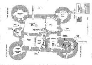 Castle Plans cartes et plans ch 226 teau de montbrun france