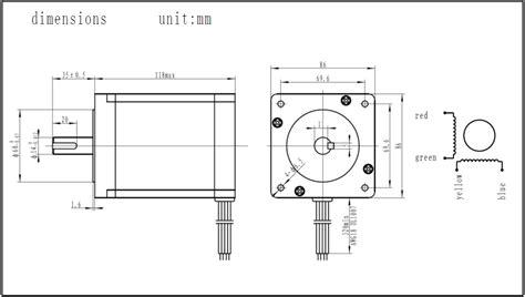nema34 stepper motor 6nm cncdrive webshop