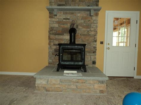 hearthstone heritage wood stove installed in new hshire