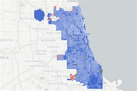 chicago electoral map chicago election map 2016 swimnova