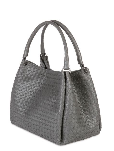 Botega Venetta Bag lyst bottega veneta parachute intrecciato nappa leather