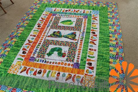 Hungry Caterpillar Quilt Pattern by N Quilt Hungry Caterpillar Quilt