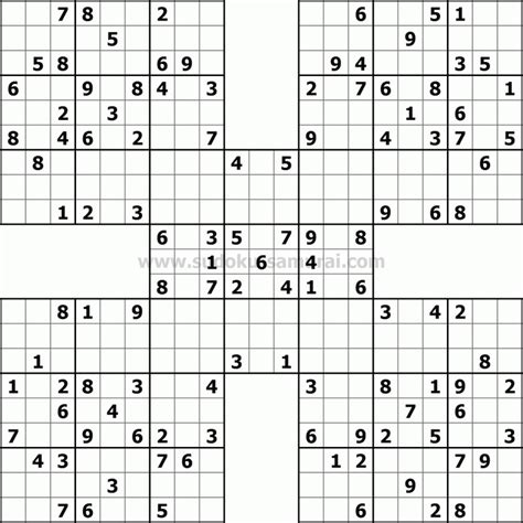 sudoku puzzle book large print for adults including easy medium expert books samurai sudoku puzzles samurai