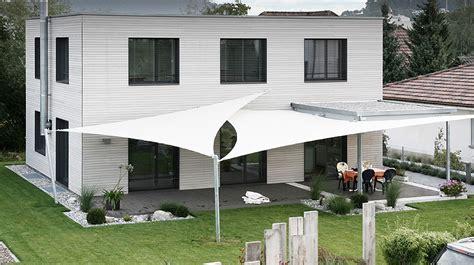 Sonnenschutz Für Terrassenüberdachung by Sonnensegel Design Terrasse