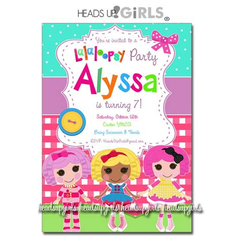 printable lalaloopsy invitations 17 best images about lalaloopsy birthday party on