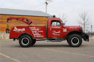 1951 dodge power wagon tow truck 170136