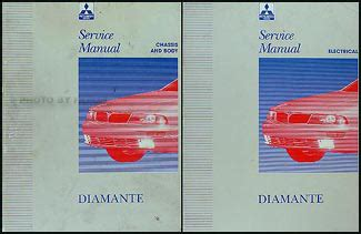 car maintenance manuals 1997 mitsubishi diamante spare parts catalogs 1997 2003 mitsubishi diamante body manual original