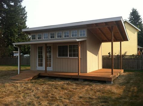 slant roof custom sheds contemporary shed portland by better