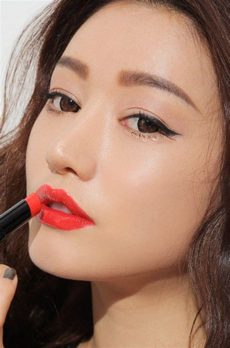 Eyeshadow Orang Korea bright orange korean 3ce park sora