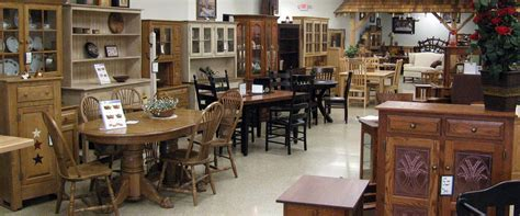 showroom with amish crafted furinture in quarryville pa