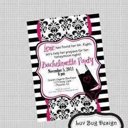 Bachelorette Party Invitation Wording Printable Elegant Bachelorette Party Invitation By Luvbugdesign