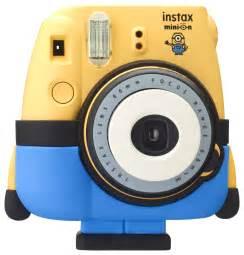 instant photos fujifilm instax minion le plus mignon des appareils photo