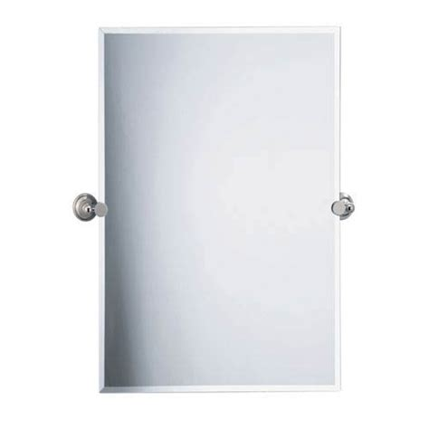 tilting bathroom mirror polished nickel polished nickel mirror bellacor