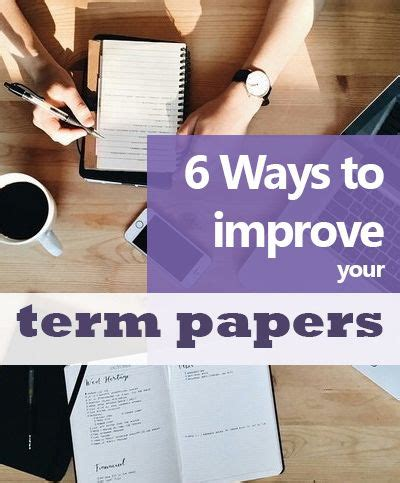 7 Ways To Improve Your Grades In School by Best 25 Term Paper Ideas On Paper Outline
