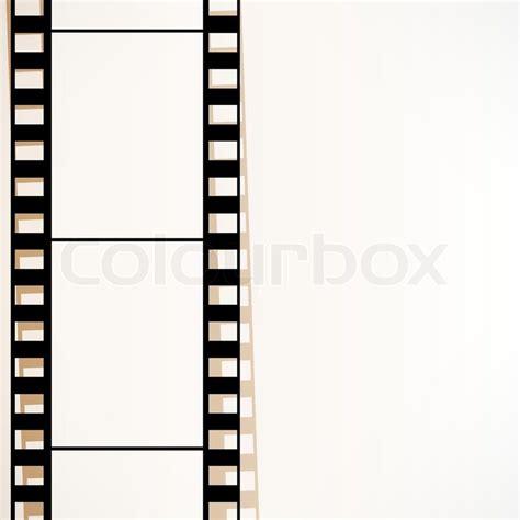 plakat gestell filmstreifen endbild stock vektor colourbox