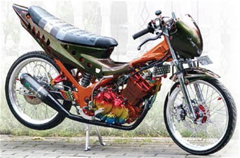 Tansioner Set Satria Fu Thailand 100 gambar modifikasi satria fu keren terbaru modif drag