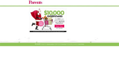 Parents Com Sweepstakes - parents com 10 000 sweepstakes 10 000 to be used on a black friday shopping spree