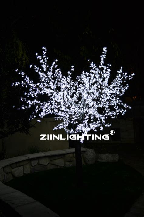 led cherry blossom trees led trees