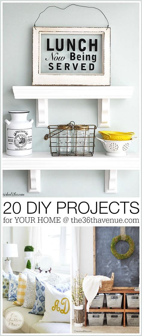 diy projects home decor home decor diy projects the 36th avenue