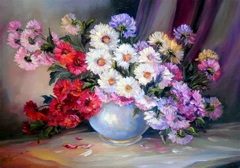 imagenes de flores pintadas al oleo pintura moderna y fotograf 237 a art 237 stica cuadros con