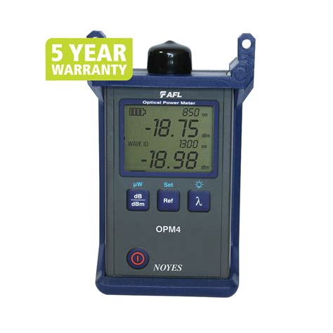 Optical Power Meter Opm Sg86ar70 afl fiber tester noyes opm 4 3d optical power meter