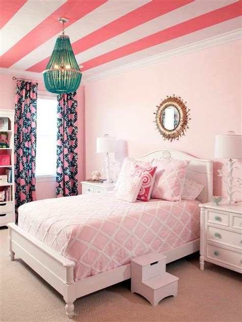 Bedroom Color Combinations Pink Room Decorating Ideas White Pink Girly Bedroom