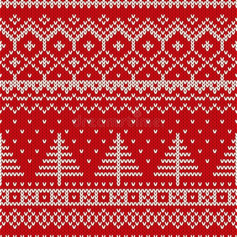 holiday pattern texture winter holiday seamless knitting pattern with a christmas