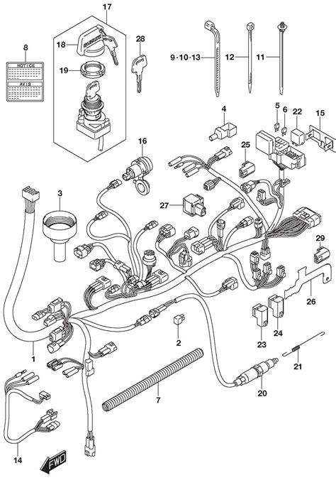 94 suzuki king 750 wiring diagram suzuki wiring