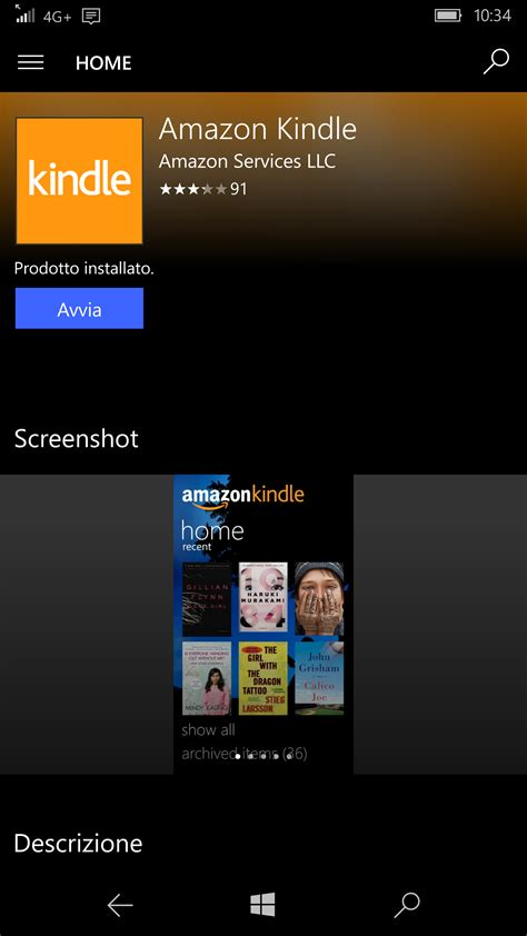 window mobile apps store how to read kindle books on your windows 10 mobile device