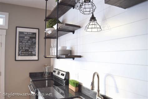 One Touch Kitchen Faucet by All Things Shiplap Style House Interiors