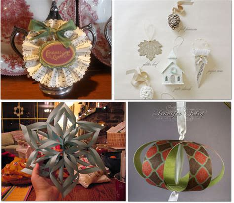 Handmade Decorations To Make - 19 home made ornaments to make tip junkie