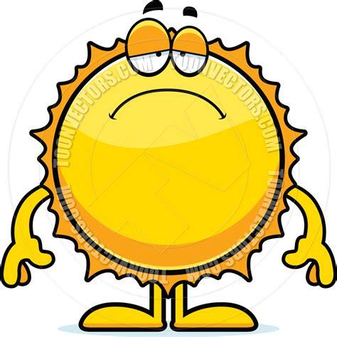 sun l for sad sad sun cartoon