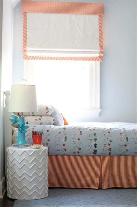 valances for boys bedroom striped bedskirt contemporary boy s room cynthia