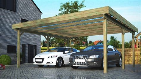carport bausatz guenstig awesome carport holz bausatz contemporary