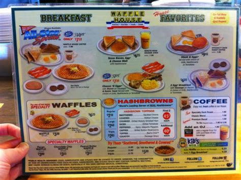 printable waffle house menu 13 photos that are way too real for waffle house lovers