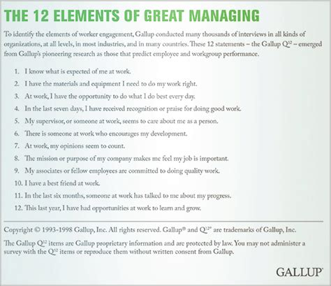 the power of 1 12 questions books should managers focus on performance or engagement