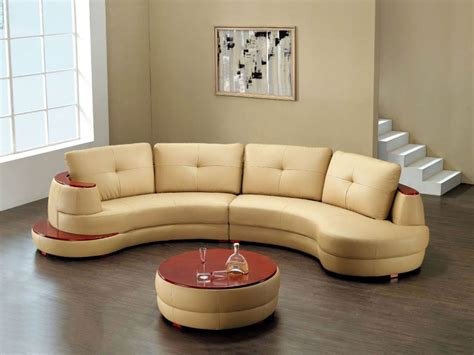 Curved Sofa Designs Decorate Your With Attractive Curved Sofa Design