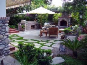Design Backyard Patio Landscape Design Back Patio Ideas Pictures With Outdoor Kitchen Fireplace And Lounge Chair With