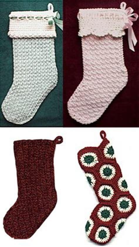 crochet pattern for baby christmas stocking 40 all free crochet christmas stocking patterns patterns hub