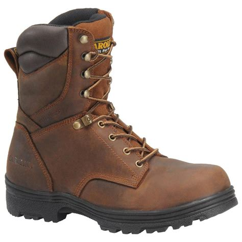carolina steel toe work boots s carolina 174 svb 8 quot steel toe waterproof work boots