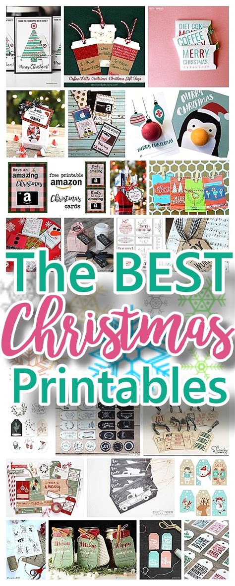 Gift Tag Greeting Card the best free printables gift tags