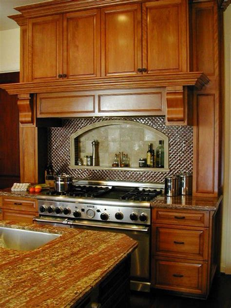 kitchen central traditional with stove stove traditional kitchens and shelves on
